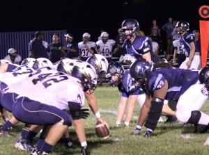 Tolton takes on St. Pius X during the Homecoming game on Sept. 25. The Trailblazers won 34-7.